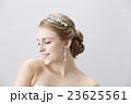 ウエディング 花嫁 ティアラの写真 23625561