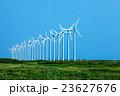 サロベツ湿原 風力発電 発電の写真 23627676