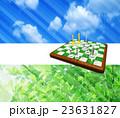 チェス盤上のチェスの駒 23631827