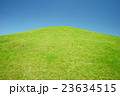 高台 芝 草原の写真 23634515