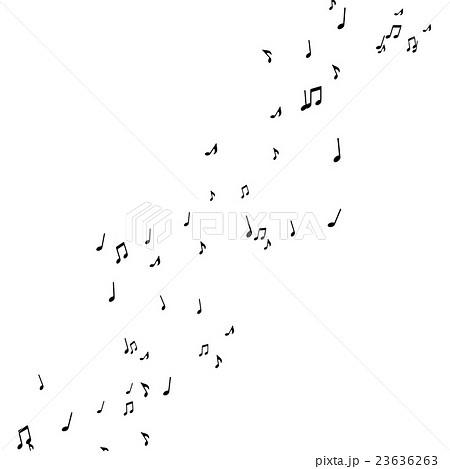 踊る音符のイラスト素材 23636263 Pixta