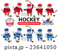 Hockey infographics elements 23641050