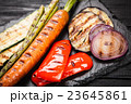 Assortment of grilled vegetables 23645861