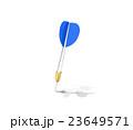 ダーツの矢を当てる 23649571