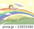 メルヘン 少女 にじのイラスト 23653480