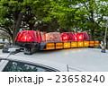 アメリカのパトライト police car right  23658240