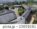 高知城天守から本丸と二ノ丸を見る 23659281