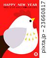 酉 とり年 鶏のイラスト 23660817