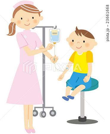 子ども 点滴 看護婦 23661668