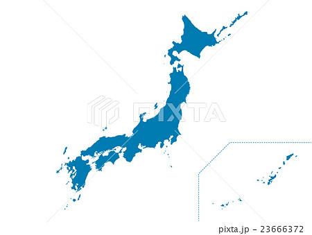 日本地図 23666372
