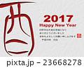 酉 酉年 年賀状のイラスト 23668278