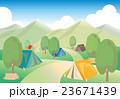 キャンプ場風景 23671439