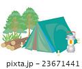 キャンプ場素材セット 23671441