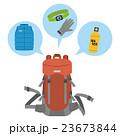 登山用品の準備【アウトドア用品・シリーズ】 23673844