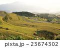 秋 棚田 田んぼの写真 23674302