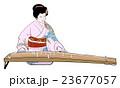 琴を弾く 23677057