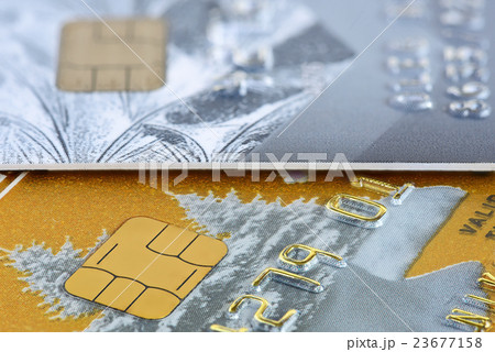 credit card closeupの写真素材 [23677158] - PIXTA