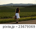 一人旅をする女性 23679369