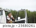 ポートレート 男性 シニアの写真 23680261