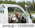 男性 シニア 農家の写真 23680366
