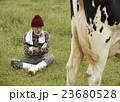 畜産 仕事風景 23680528