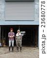 男性 2人 親子の写真 23680778