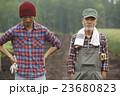 男性 親子 2人の写真 23680823