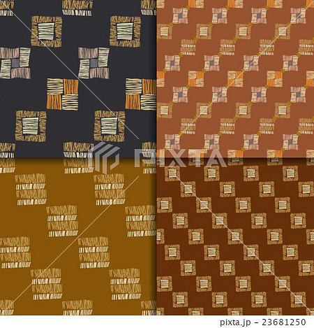 Abstract seamless patternsのイラスト素材 [23681250] - PIXTA