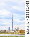 梅雨空と東京スカイツリー 23681445