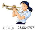 トランペット吹きの少女 23684757