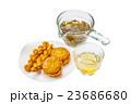 ジャスミンティーと麻花 中華菓子 Jasmine tea and Chinese churros 23686680