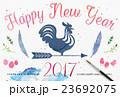 年賀状 2017年 酉年のイラスト 23692075