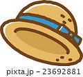 麦わら帽子 帽子 ベクターのイラスト 23692881