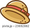 麦わら帽子 帽子 ベクターのイラスト 23692882