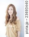 ヘアスタイル 女性 若いの写真 23693440
