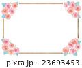 バラとフレームのイラスト 23693453