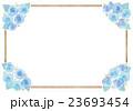 バラとフレームのイラスト 23693454