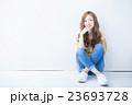 ヘアスタイル 女性 若いの写真 23693728
