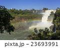 イグアスの滝 滝 激流の写真 23693991