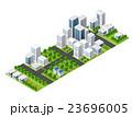 Isometric perspective city 23696005