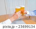 親子 ビール 乾杯の写真 23699134