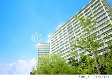 青空とマンション 23702321