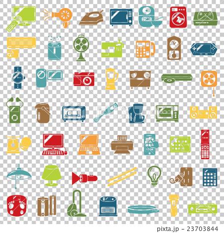 家用電子產品圖標 23703844