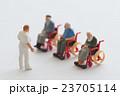 介護 シニア 車椅子の写真 23705114