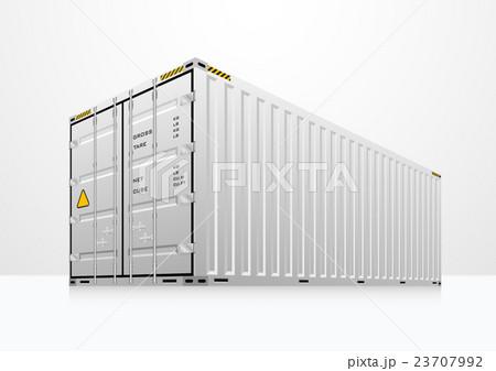 Cargo container vectorのイラスト素材 [23707992] - PIXTA