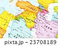 世界地図・イラク 23708189