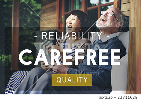 Carefree Reliability Quality Peace Life Living Conceptの写真素材 [23711628] - PIXTA
