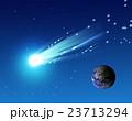 流れ星と地球 23713294