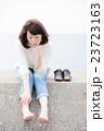 ポートレート 人物 女性の写真 23723163