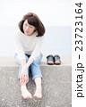 ポートレート 人物 女性の写真 23723164